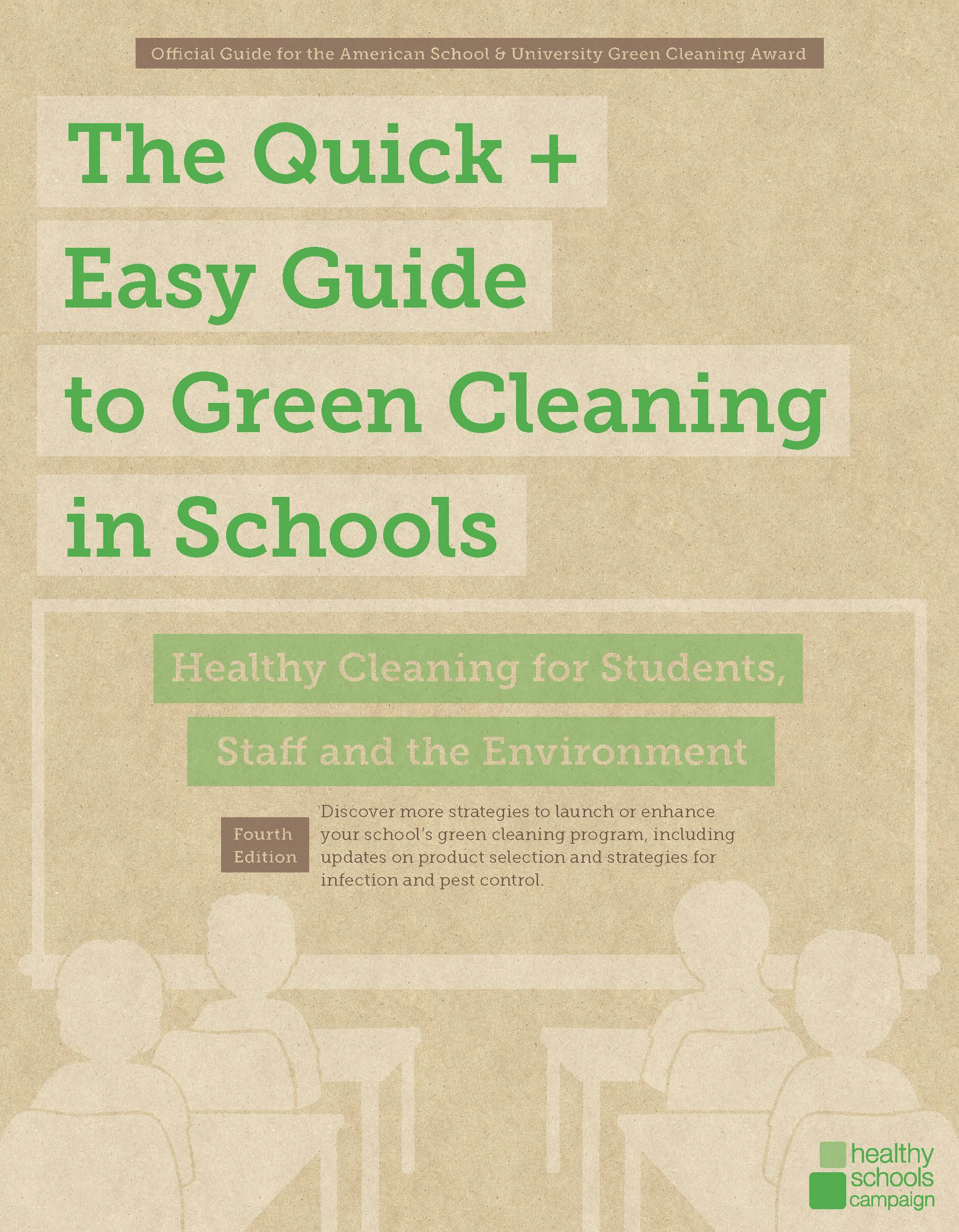 the quick and easy guide to green cleaning in schools v4 cover