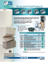 Tissue and Towel Products Sell Sheet